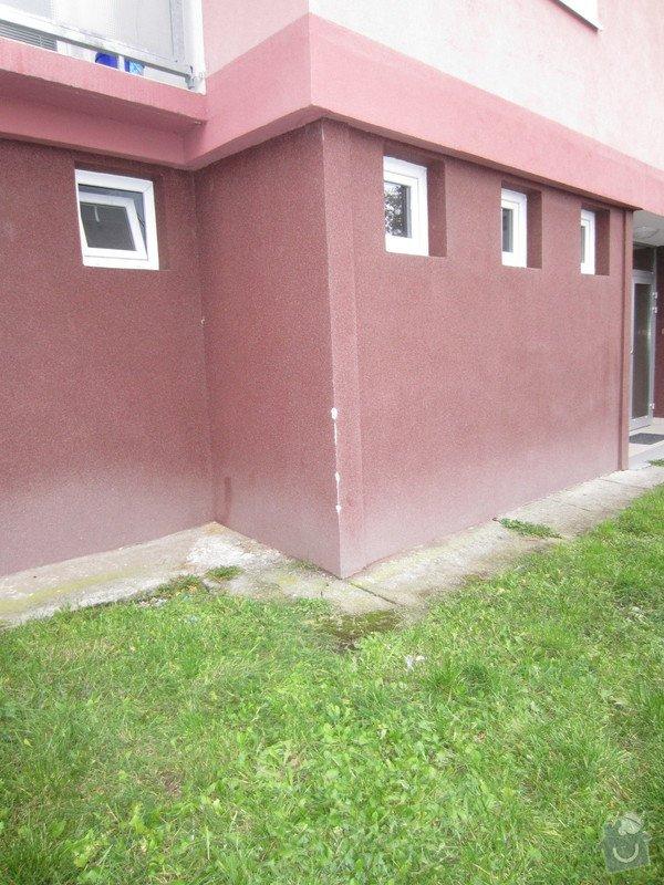 Opravu poskozeneho rohu na fasade zatepleneho paneloveho domu: IMG_7230