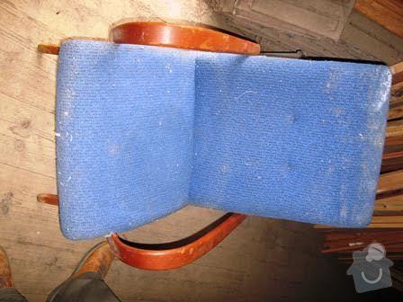 Čalounění křesílka a židle: kresilko