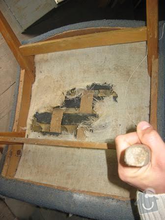 Čalounění křesílka a židle: kresilko_sedak