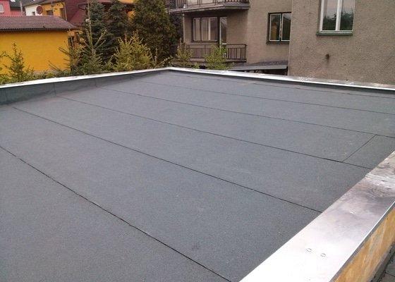 Výměna střechy na garáži