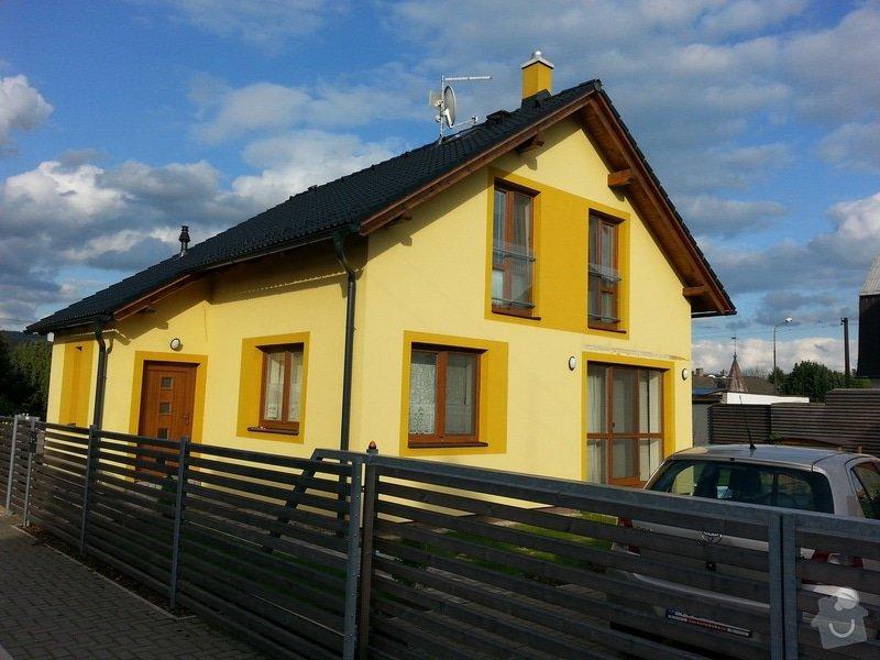 Nátěr fasády: domek3