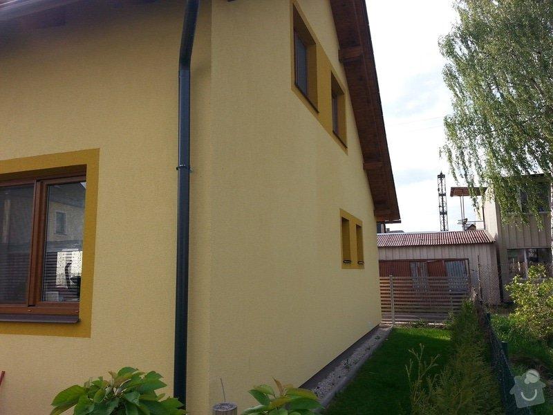 Nátěr fasády: domek2