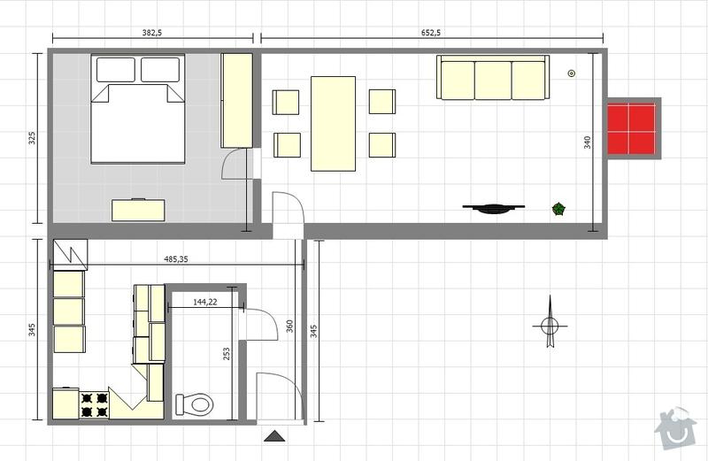 Rekonstrukce koupelny: Rabasova_layout