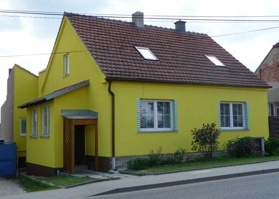 Oprava fasády cca 90m2