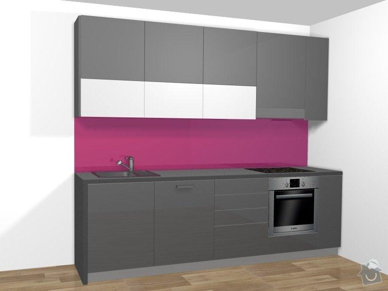Výroba kuchyňské linky: Kuchyn_cast_1