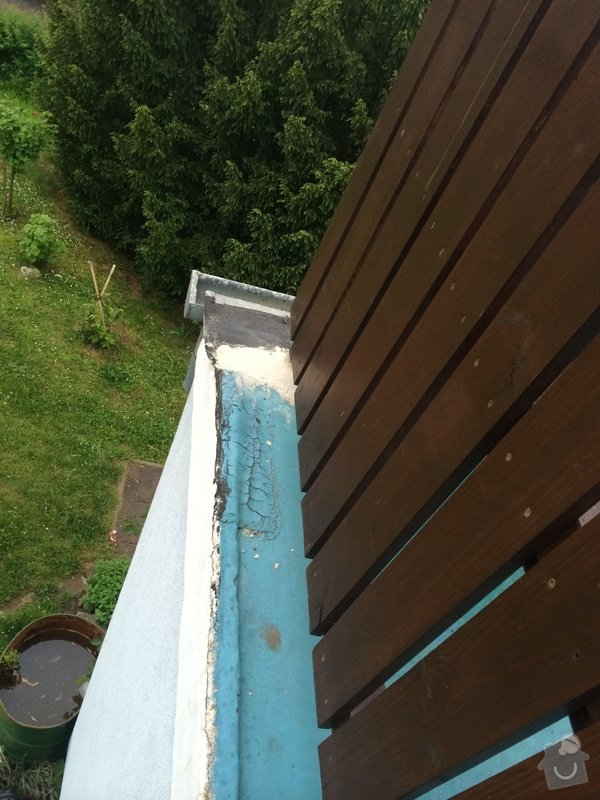 Oprava povrchu verandy a klempířské práce: IMG_1671