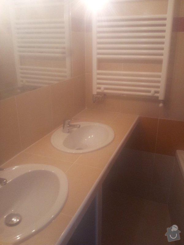 Dostavba hrubé stavby RD: 21_-_Koupelna