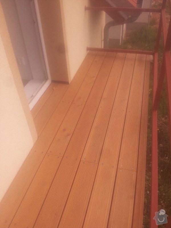Dostavba hrubé stavby RD: 25_-_Balkon