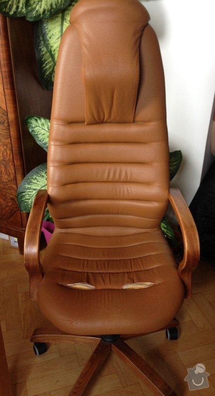 Renovace čalounění kancelařské židle: Photo_11.05.14_14_07_24