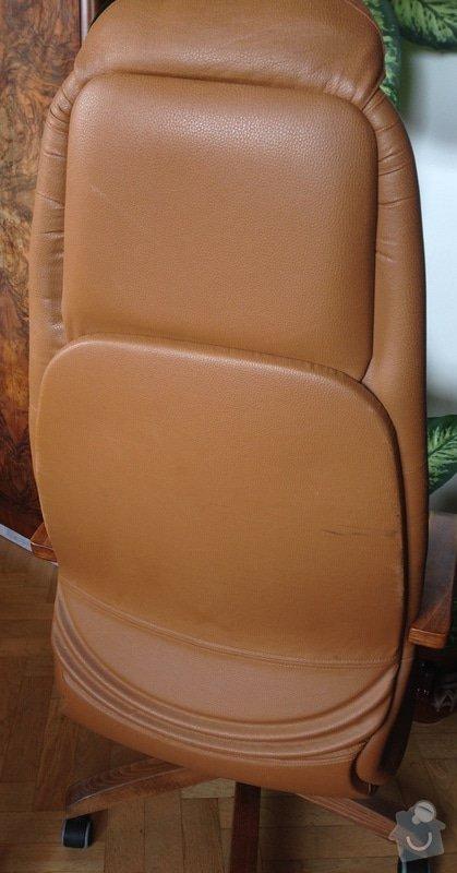 Renovace čalounění kancelařské židle: Photo_11.05.14_14_07_36