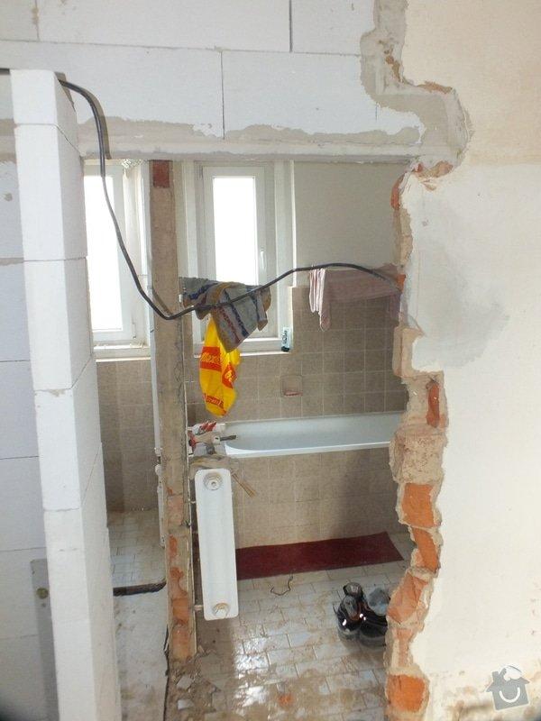 Rekonstrukce koupelny: DSCF4659