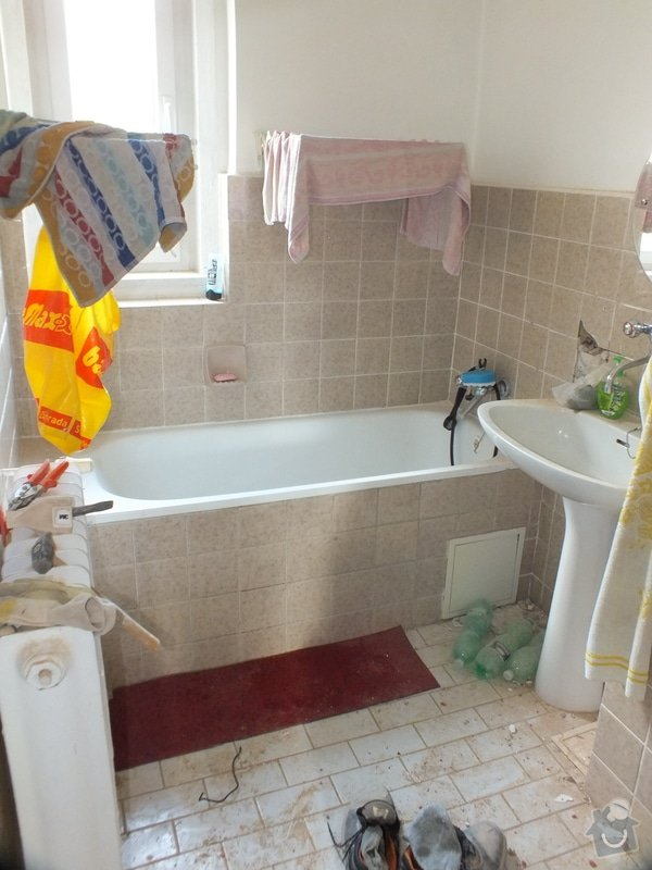 Rekonstrukce koupelny: DSCF4660