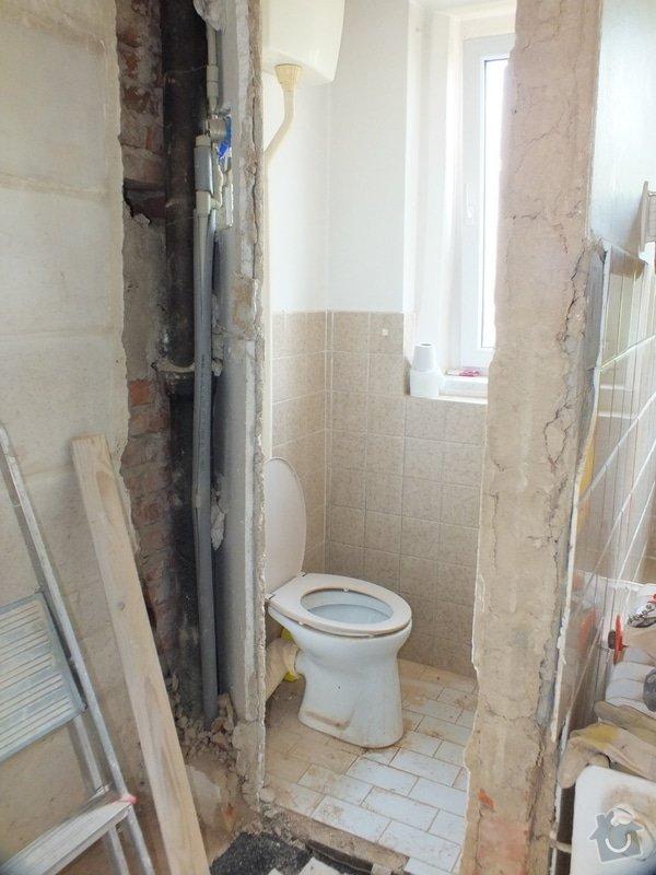 Rekonstrukce koupelny: DSCF4661