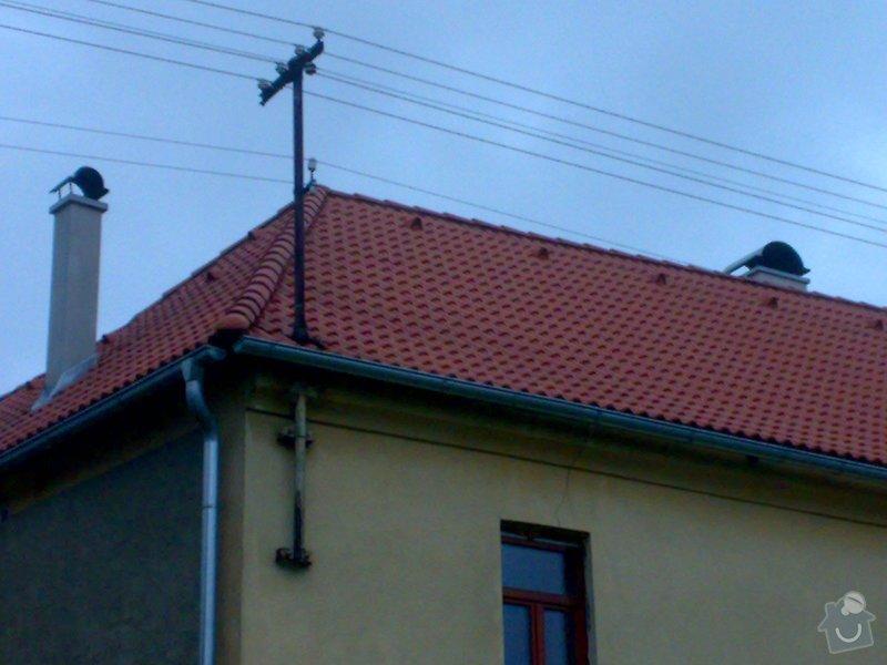 Rekonstrukce střechy - vazby, stavba komínů: 11052014225
