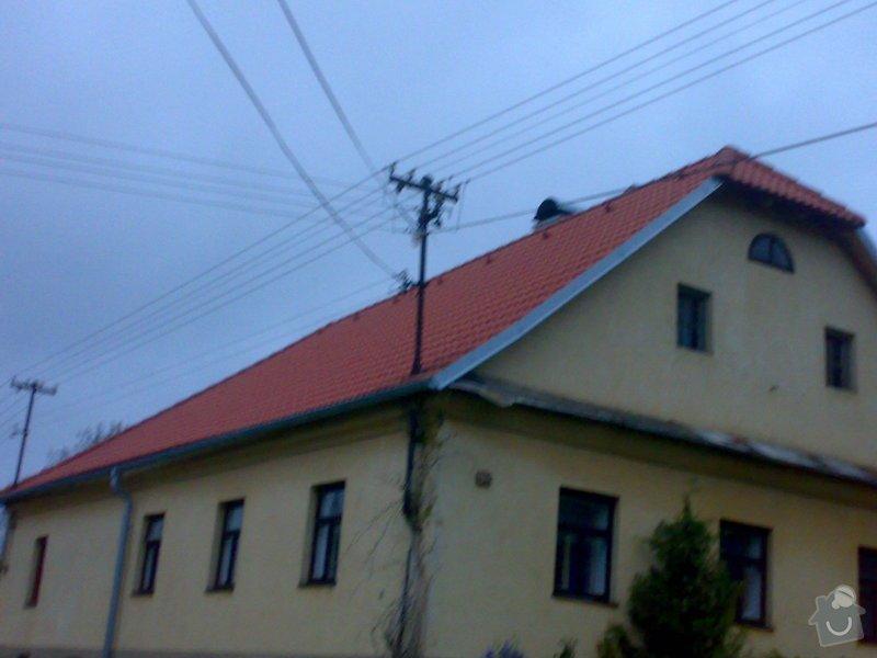 Rekonstrukce střechy - vazby, stavba komínů: 11052014227