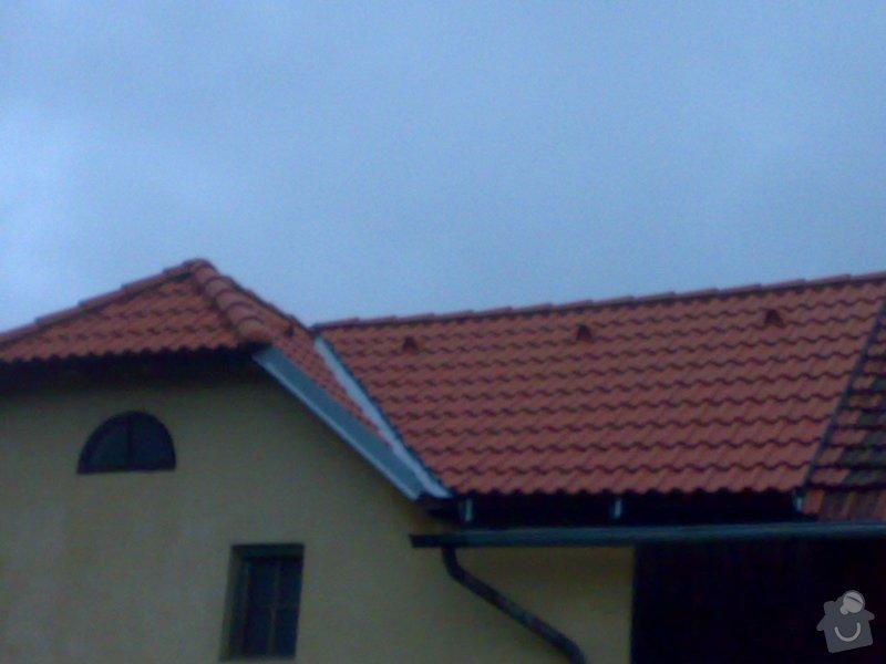 Rekonstrukce střechy - vazby, stavba komínů: 11052014228