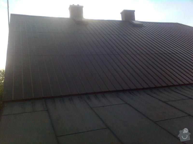 Rekonstrukce střechy na rodinném domě: Obraz1304