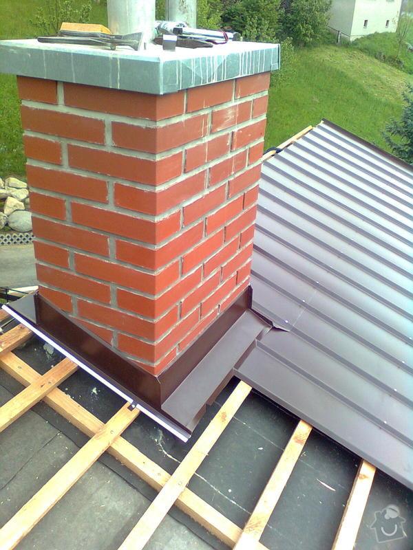 Rekonstrukce střechy na rodinném domě: Obraz0820