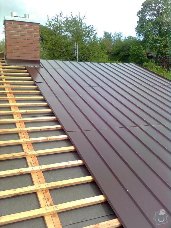 Rekonstrukce střechy na rodinném domě: Obraz0821