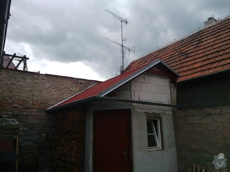Střecha na zahradní domek + plot: IMG_20140511_150917