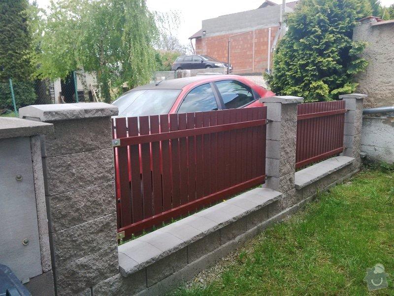 Střecha na zahradní domek + plot: IMG_20140511_150940