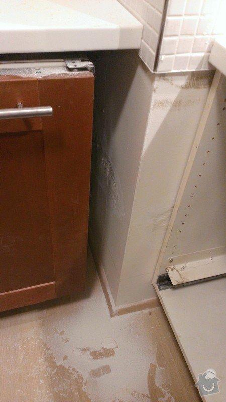 Montaz kuchynske linky: WP_20140105_006