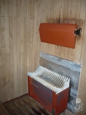 Rekonstrukce klubové sauny: P1000910