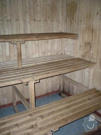 Rekonstrukce klubové sauny: P1000900