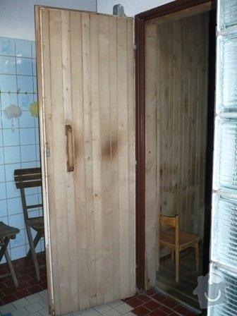 Rekonstrukce klubové sauny: P1000912