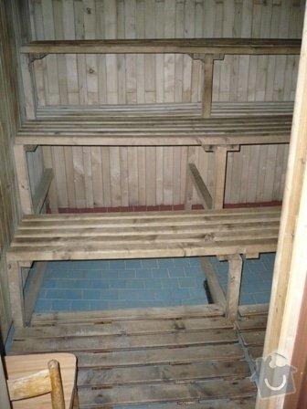 Rekonstrukce klubové sauny: P1000898