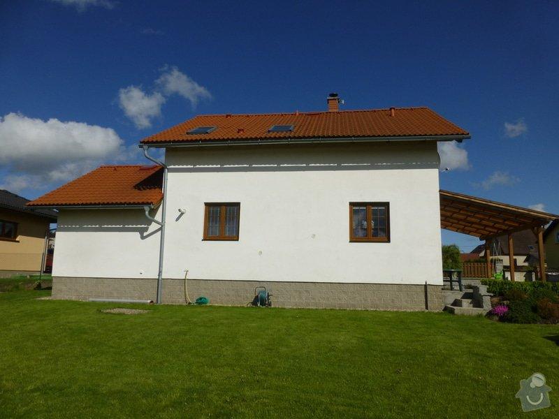 Zateplení fasády rodinného domu: P1020961