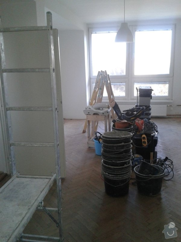 Rekonstrukce bytu 3+1 na 3+kk: 20140217_154642