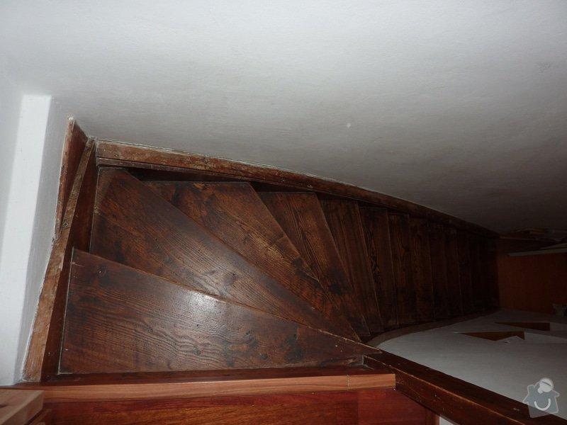 Posouzení a likvidace červotoče, schodiště RD: 1_Schodiste