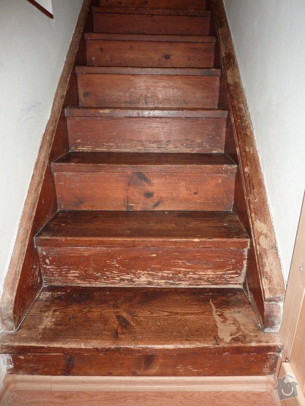 Posouzení a likvidace červotoče, schodiště RD: 2_Schodiste