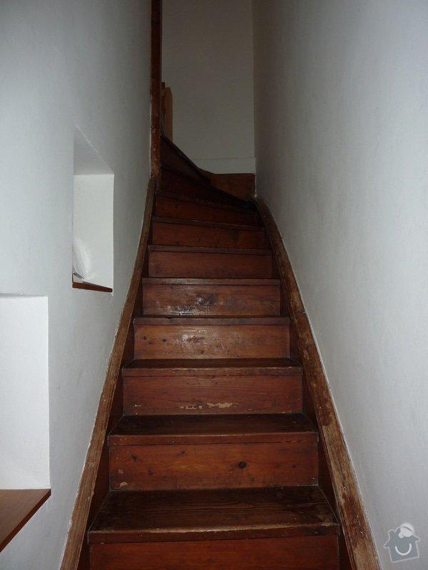 Posouzení a likvidace červotoče, schodiště RD: 3_Schodiste