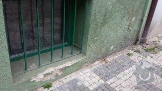 Oprava vnější omítky domu: 20140514_155428