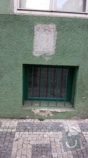 Oprava vnější omítky domu: 20140514_155433