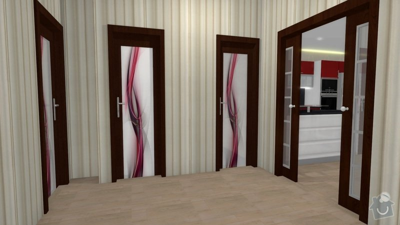 Návrh interiéru celého bytu: knezkova_koupelna_2013_7
