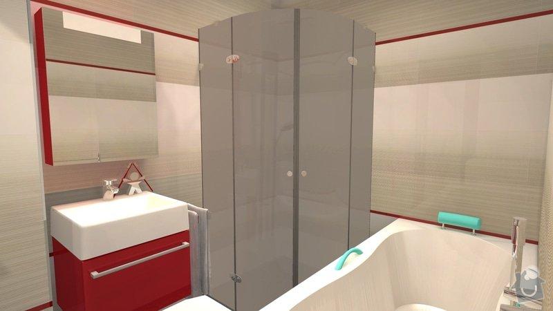 Návrh interiéru celého bytu: knezkova_koupelna_2013_4