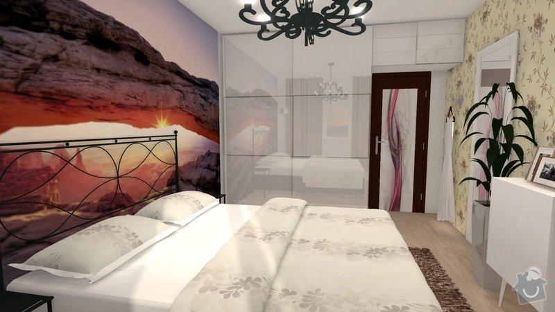 Návrh interiéru celého bytu: knezkova_loznice_2013_var2_2