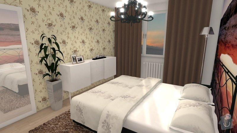 Návrh interiéru celého bytu: knezkova_loznice_2013_var2_5