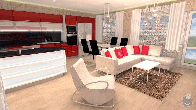 Návrh interiéru celého bytu: 2