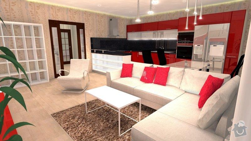 Návrh interiéru celého bytu: 4