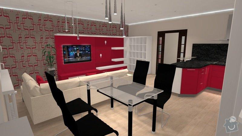 Návrh interiéru celého bytu: knezkova_2013_17