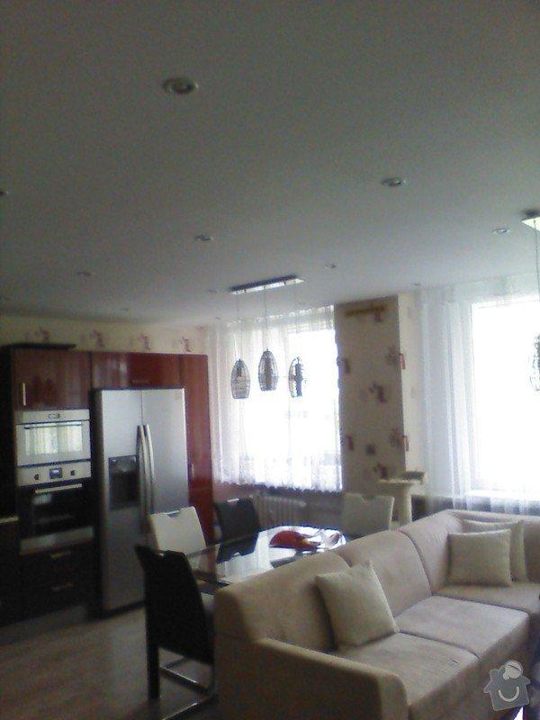 Návrh interiéru celého bytu: obyvak