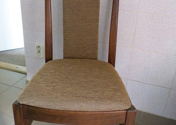 Renovace čalouněných židlí