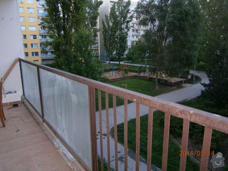 Netypické zasklení panelákové lodžie: P5140434