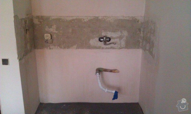 Zednicko/obkladačské a instalatérské práce: IMAG0666