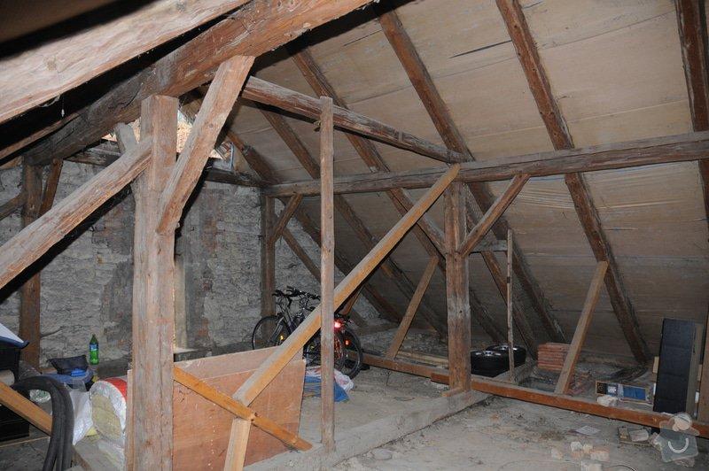Kontrola krovu / trámů střechy: DSC_1392