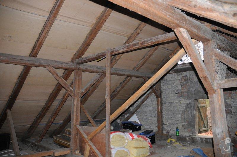 Kontrola krovu / trámů střechy: DSC_1393